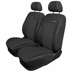 VW Caddy III 1+1 fotele przednie pokrowce miarowe elegance