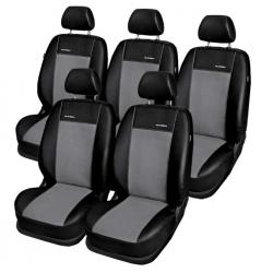 VW Sharan 5 os. pokrowce miarowe Premium